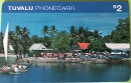 TUVALU  -  Phonecard  $2 - Tuvalu