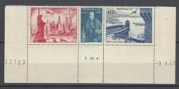Monaco - 1947 - Nuovo/new MNH - New York - Mi N. 331-35-36 - Nuovi