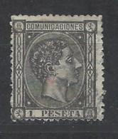 Spagna - 1875 - Usato/used - Ordinari - Mi N. 153 - 1875-1882 Regno: Alfonso XII