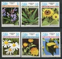 Kuba Mi# 3737-42 Postfrisch MNH - Flora - Cuba