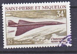 Saint Pierre Et Miquelon PA  43 Concorde Oblitérés Used TB Cote 13 - Oblitérés