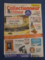 COLLECTIONNEUR & CHINEUR. N°195. 3/4/2015. BILLET SOUVENIR ZERO EURO. . ASTERIX CLD. TRAINS EN 0. PAYS DE FRANCE. - Newspapers