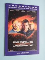 PERDUS Dans L'ESPACE > Pathé NICE ( Programme ) 1998 ( Voir Photo > 2 Scan ) ! - Publicidad