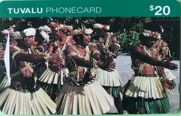 TUVALU  -  Phonecard  -  $20 - Tuvalu