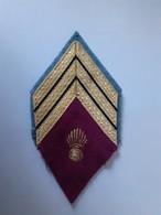 Ecusson De Bras M45 - Service De Santé Sergent-chef - Ecussons Tissu