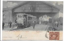Modena - Stazione Rete Adriatica - Partenza Del Treno Elettrico. - Modena