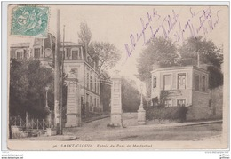 SAINT CLOUD ENTREE DU PARC DE MONTRETOUT PRECURSEUR - Saint Cloud