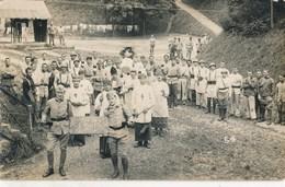 Carte-Photo : Militaires Du 170 RI - Père Cent Classe 1926 (2) - Guerre, Militaire