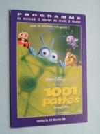1001 PATTES > Pathé NICE ( Programme ) 1999 ( Voir Photo > 2 Scan ) ! - Publicidad