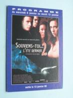 SOUVIENS-TOI...L'été Dernier 2 > Pathé NICE ( Programme ) 1999 ( Voir Photo > 2 Scan ) ! - Publicidad