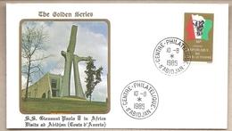Costa D'Avorio - Busta Con Annullo Speciale: Visita Di S.S. Giovanni Paolo II - 1985 - Costa D'Avorio (1960-...)