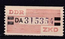 DDR, Dienst: ZKD Nr. 29 DA**, Nachdruck (T 14685) - DDR