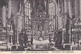 Luxembourg, Autel Votif Dans La Cathédrale (pk68236) - Luxembourg - Ville