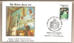 Messico - Busta Con Annullo Speciale: Visita Di S.S. Giovanni Paolo II - 1990 - Messico