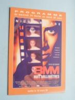 8MM Huit Millimètres > Pathé NICE ( Programme ) 1999 ( Voir Photo > 2 Scan ) ! - Publicidad