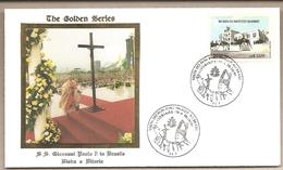 Brasile - Busta Con Annullo Speciale: Visita Di S.S. Giovanni Paolo II - 1991 - Brasile
