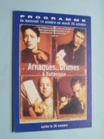 ARNAQUES, CRIMES & BOTANIQUE > Pathé NICE ( Programme ) 1998 ( Voir Photo > 2 Scan ) ! - Publicidad