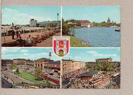 BRD - AK - Hannover (Straßenbahn Bahnhof Flughafen) - 1963 - Hannover