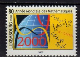 2000 Luxembourg - International Year Of Mathematics - Sceince MNH** Mi 1497 - Luxembourg