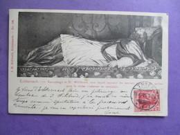 CPA LUXEMBOURG ECHTERNACH SARCOPHAGE DE ST WILLIBRORD - Echternach