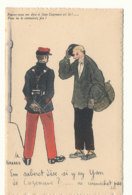 A P 965  C P  A    HUMOUR   - ILLUSTRATEUR GABARD - POUVEZ VOUS ME DIRE SI JEAN DEZENAVE EST LA - Andere Illustrators