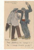 A P 966  C P  A    HUMOUR   - ILLUSTRATEUR GABARD   NOUS PLANTERONS DES ORANGERS - Andere Illustrators