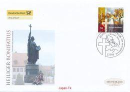GERMANY Mi.Nr. 2401 1250. Todestag Des Hl. Bonifatius - FDC - [7] Federal Republic