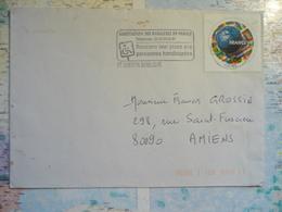 Association Des Paralysés De France... St Quentin Basilique ..../1998 - Marcophilie (Lettres)