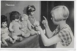 Teddy Bear, Ours En Peluche,  Teddybär, Orsacchiotto, Girl, Fille, Mädchen, Doll, Poupée, Puppe, Photocard - Enfants