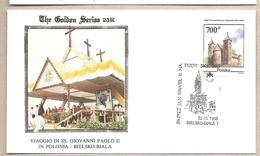 Polonia - Busta Con Annullo Speciale: Visita Di S.S. Giovanni Paolo II - 1995 - 1944-.... Repubblica
