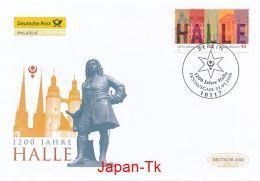 GERMANY Mi. Nr. 2510 1200 Jahre Halle - FDC - [7] Federal Republic