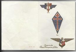 Carte Patriotique FFL  - Voeux 1945 - Guerre 1939-45