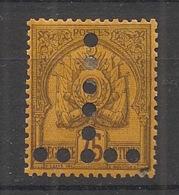 Tunisie - 1888-1898 - Taxe TT N°Yv. 19 - Armoiries 75c Violet-noir Sur Jaune - Neuf * / MH VF - Tunesien (1888-1955)