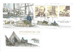 Norway 2004 Otto Sverdrup, Polar, Ship Fram, Dog Sledge,  Mi Bloc 26  FDC - Norwegen