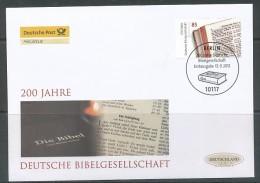 GERMANY Mi. Nr. 2955 200 Jahre Deutsche Bibelgesellschaft - FDC - [7] Federal Republic