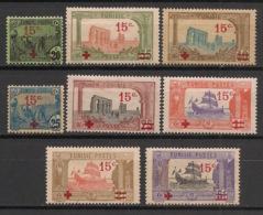 Tunisie - 1918 - N°Yv. 59 à 66 - Série Complète - Neuf * / MH VF - Ongebruikt