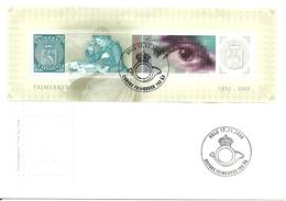 Norway 2005 150 Years Anniversary Norwegian Stamps,  Mi Bloc 29 FDC - Norwegen
