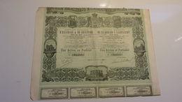 Compagnie Madrilène D'éclairage & De Chauffage (1880) Madrid ESPAGNE - Azioni & Titoli