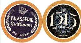 Brasserie Guillaume. Cour-Cheverny. 1515 Bière Artisanale Brassée En Loir-et-Cher Val De Loire. France. - Sous-bocks