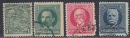 Cuba, Scott #253, 264-265, 268, Used, Map, Marti, Gomez, Garcia, Issued 1914-1917 - Cuba