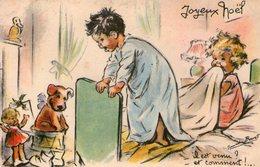 Illustrateur Germaine Bouret-joyeux Noel- - Bouret, Germaine
