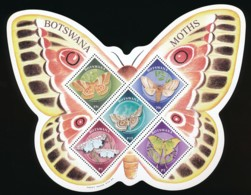 Botswana Moths - MNH – Papillons De Nuit - Vlinders