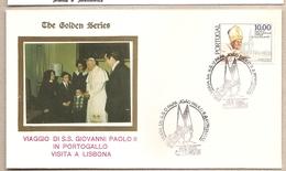Portogallo - Busta Con Annullo Speciale: Visita Di S.S. Giovanni Paolo II - 1982 - 1910 - ... Repubblica