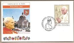 Polonia - Busta Con Annullo Speciale: Visita Di S.S. Giovanni Paolo II - 1983 - 1944-.... Repubblica