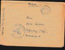 German Feldpost WW2: From Uman In Ukraine - Gebirgsjäger-Bataillon 94 (3. Kompanie) FP 01345E P/m 5.1.1944 - Letter - Militaria