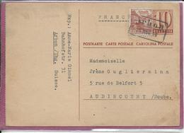 POSTKARTE  ARBON - Poststempel