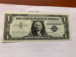 United States $1.00  Uncirc. Banknote 1957 A  #11 - Certificats D'Argent (1928-1957)