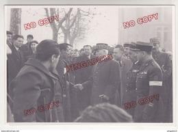 Au Plus Rapide Visite à Marseille Du Maréchal Pétain WW2 2 ème Guerre Mondiale Etat Français Photo Mougins - 1939-45