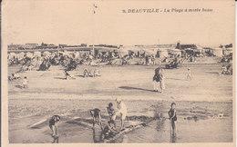 Deauville - La Plage à Marée Basse - Deauville