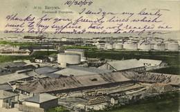 Georgia Russia, BATUMI BATUM BATOUM, Oil Tanks, нефтяной городок (1908) Postcard - Géorgie
